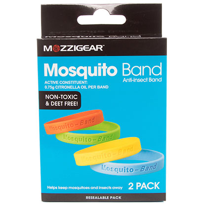Box of 10 patches Mozzigear Mosquito Patch